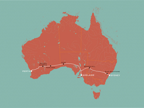 Indian Pacific Journey