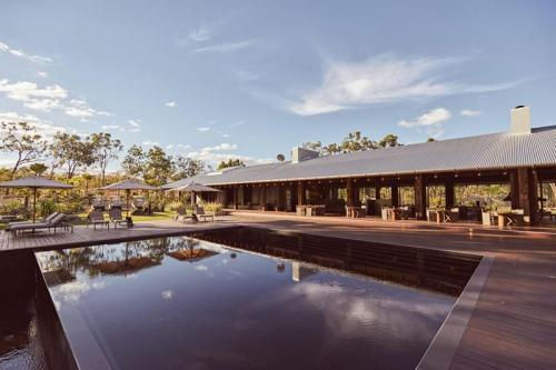 Infinity Pool and Main Pavilion