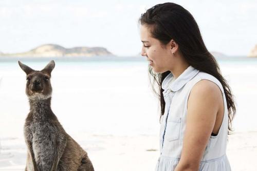 Kangaroo beach Cape Le-Grand Western Australia