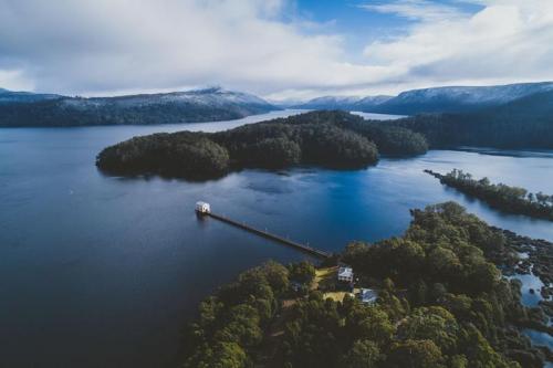 Lake St. Clair - Aereal shot