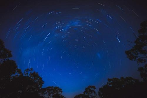 Milky way circle