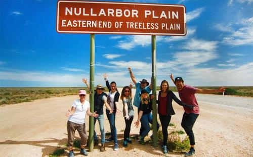 Nullarbor Sign