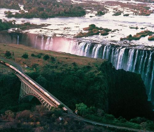 Rovos Rail - Victoria Falls Bridge