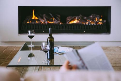 Smiths Beach Resort Fireplace