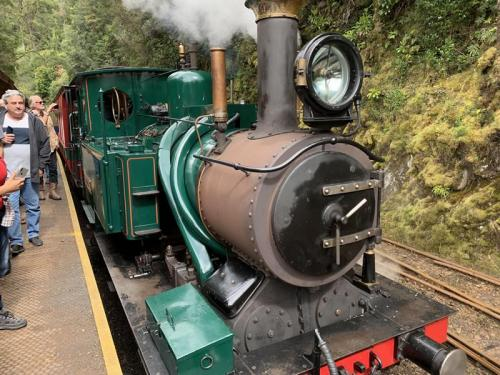 Steam Train Ride from Strahan to Queenstown