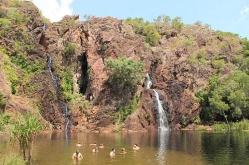 Group at Wangi Falls